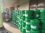 We handed out nearly 200 filters to a village without access to clean water