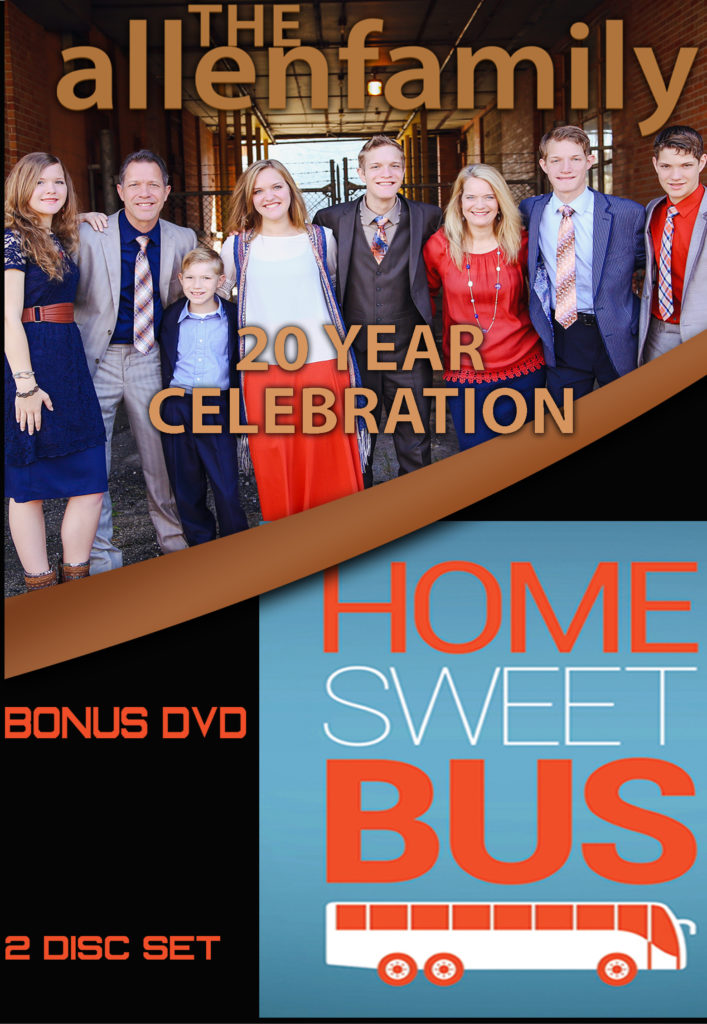 The Allen Family 20 Years DVD